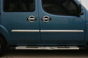 Fiat-DOBLO-Chrome-Door-Handle-Cover-4-door-S-STEEL-2000-2010
