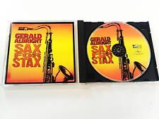 GERALD ALBRIGHT SAX FOR STAX CD 2008