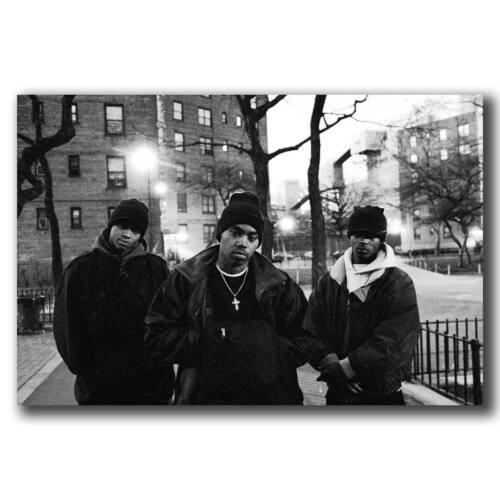 New Nas Time is Illmatic Hip Hop Custom Poster Print Art Decor T-724