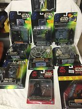 star wars hasbro Lot Of 10 Figure The Power Of The Force & Episode 1 Sealed