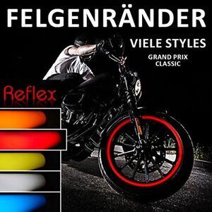 """LISERET AUTOCOLLANT 700603 Classic-Style Reflex Rouge Pour 16"""" 17"""" 18"""" Pouces  </span>"""
