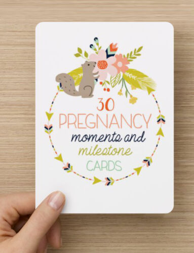 Pregnancy Moments and Milestones Cards Brand New and Sealed 30 Pack ON SALE