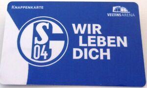 Knappenkarte-WIR-LEBEN-DICH-2019-2020-FC-Schalke-04-Huelle-Restguthaben