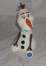 Nuevo Disney Frozen Olaf Money Bank 3D niños Dinero Caja