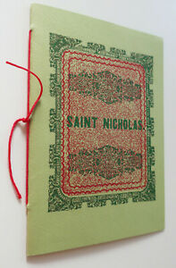 A Visit from St Nicholas,Night Before Christmas Facsimile of 1849 First Edition