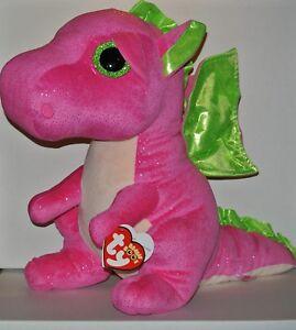 "pink dragon 6/"" New MWMT Darla Ty Beanie Boo"