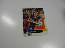 Adam Oates 1991 NHL Pro Set (French) card #219
