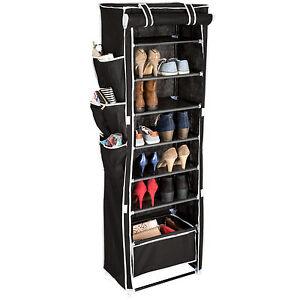 Armoire-etageres-a-chaussures-placard-6-niveaux-panier-suspendu-housse-noir