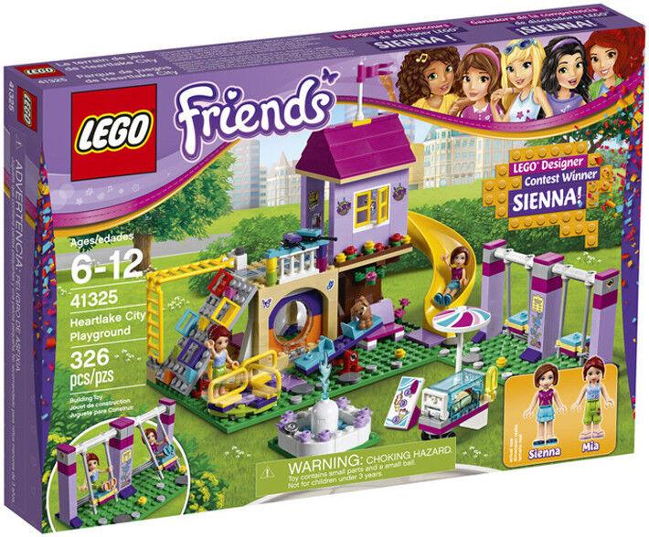 Lego HeartLake HeartLake HeartLake Playground 41325 New Unopened Gift Wrap Available 92f09c