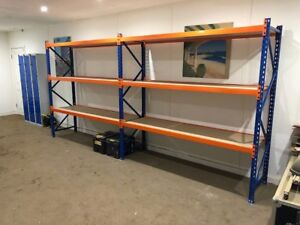 NEW-EXCEL-DEXION-STORAGE-SYSTEM-WAREHOUSE-LONGSPAN-RACKING-BAY-bankrupt-stock