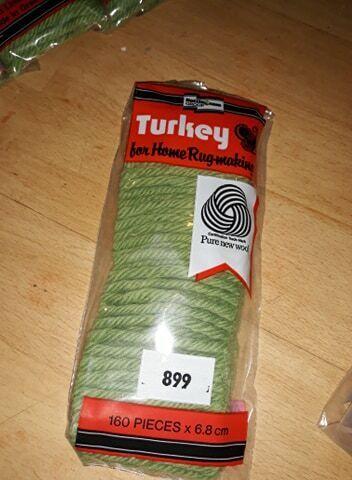 Alfombra de inicio de Turquía haciendo Puro Nuevo Lana 899
