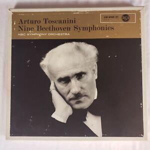 Arturo Toscanini: Nine Beethoven Symphonies 7LP Box Set LM-6901 Germany EX