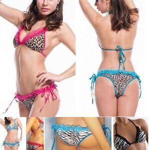 Shirred-Back-Bikini-Bottom-Summer-Bathing-Suit-Animal-Tiger-Zebra-Leopard-Print