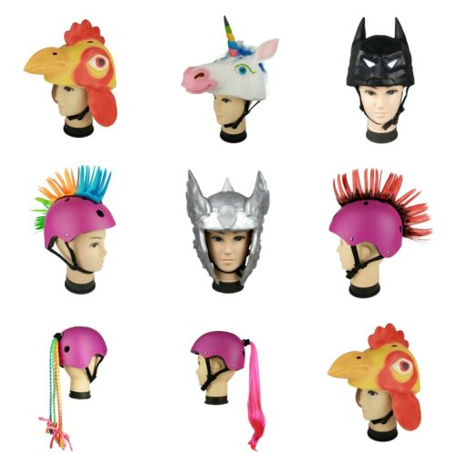 Cool and Fun Bicycle Snowboard Skating Chicken Helmet Covers Universal Size
