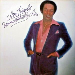 LOU RAWLS Unmistakably Lou Album Released 1977 Vinyl/Record  Collection USA