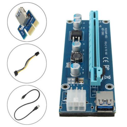 H81 Mining Motherboard PCI-E Extender Riser Card SATA For BTC Eth Rig Ethereum