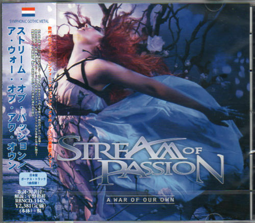 STREAM OF PASSION-A WAR OF OUR OWN-JAPAN CD F25