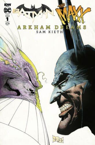 Choose Cover A or B Batman The Maxx Arkham Dreams #1 IDW DC Comics 2018 NM