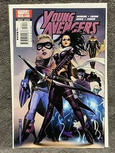 Young-Avengers-10-1st-Cover-Kate-Bishop-1st-App-Tom-Shepherd-1st-Print