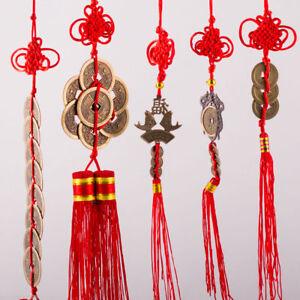 Chinesische Feng Shui Glücksmünzen Glücksbringer Glück Amulett