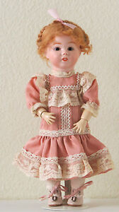 Learned Sfbj 247 29 Cm 11.6 Inch Poupée Ancienne Reproduction Antique Doll At Any Cost Antique (pre-1930)