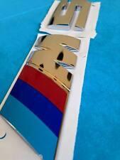 LOGO COFFRE BMW M5 E34 E32 E39 SÉRIE 5 ORIGINAL BMW 520 525 523 530 535 D I E39