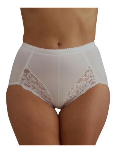 Ladies Light Control Support Bracegirdles Knickers Briefs Shapewear Black White