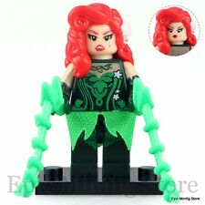 Custom Poison Ivy Batman Movie 2017 Minifigure fits with Lego pg102 UK Seller