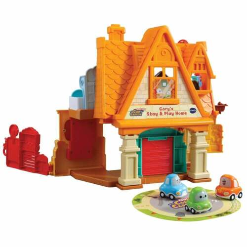 vTech Baby Toot-Toot Drivers Cory Carson Cory/'s Stay /& Play Home Playset
