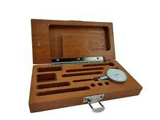 Browne Amp Sharpe 7035 2 Bestest 0005 Swiss Made Jeweled Dial Test Indicatorbox