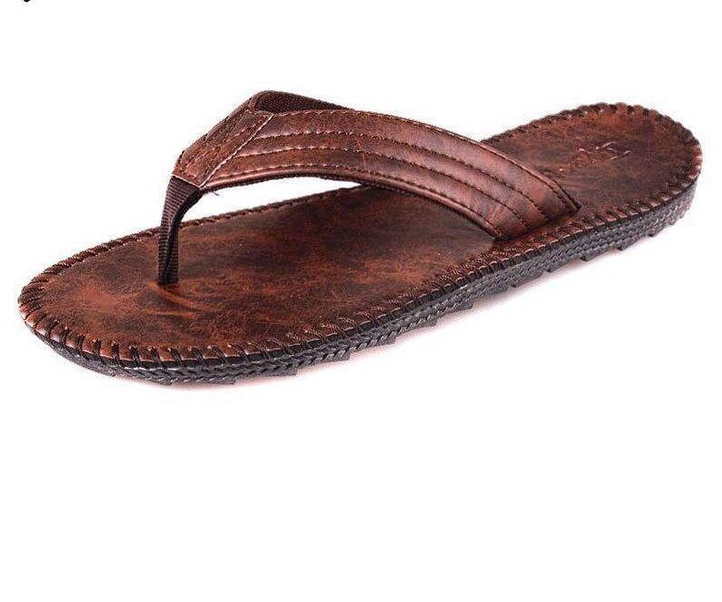 Summer Flip Flops For Men High Quality Casual Open Toes Non Slide Stylish Sandal