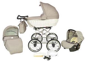 kinderwagen baby merc retro 3in1 sportwagen buggy autositz. Black Bedroom Furniture Sets. Home Design Ideas