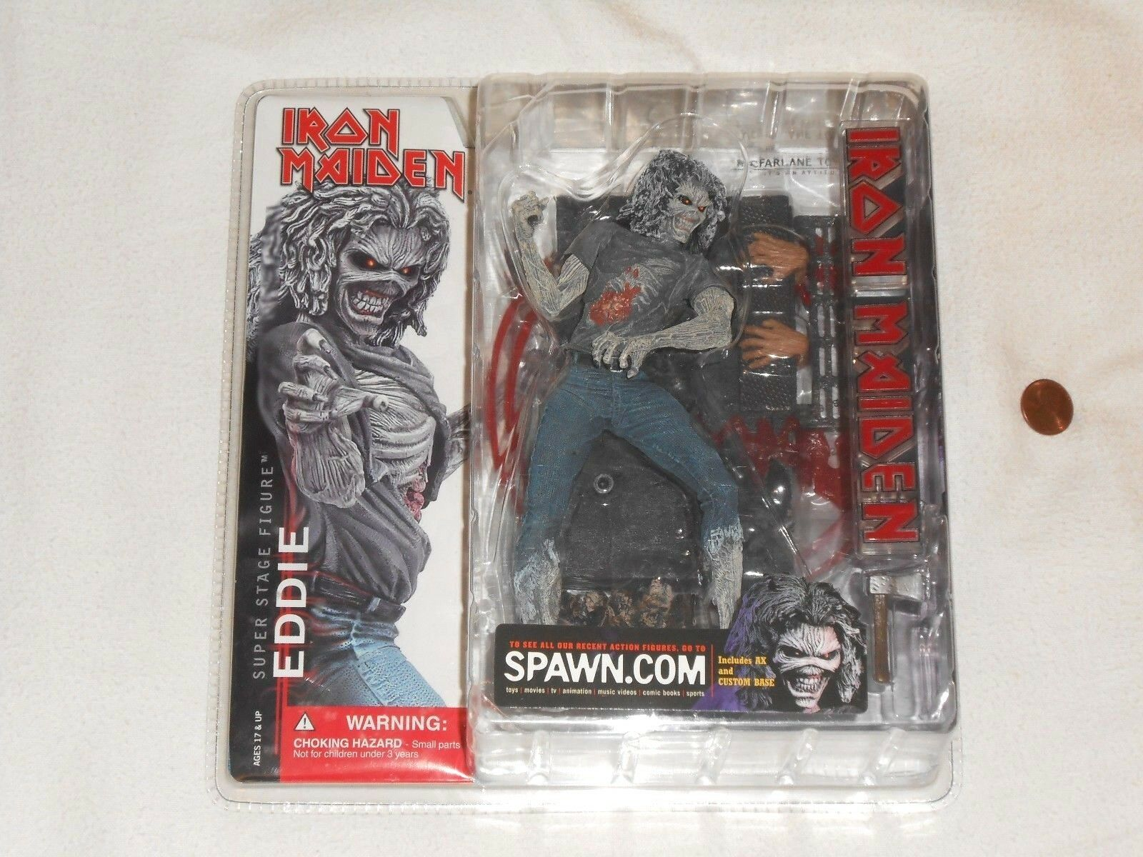 NEW Iron Maiden Eddie Killers Super Stage Action Figure Rare Toy Macfarlane ED