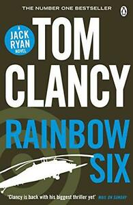 Rainbow-Six-Jack-Ryan-10-by-Clancy-Tom-NEW-Book-Paperback-FREE-amp-Fast-Del