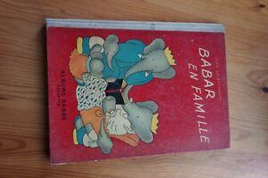 ALBUM-034-BABAR-EN-FAMILLE-034-JEAN-DE-BRUNHOFF-edition-1947