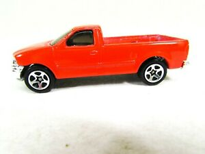 Vintage-Hot-Wheels-1997-Ford-F-150-Red-Truck-1996-Malayisa
