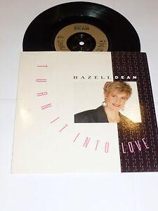 HAZELL-DEAN-Turn-It-Into-Love-Deleted-1988-UK-2-track-7-034-vinyl-single