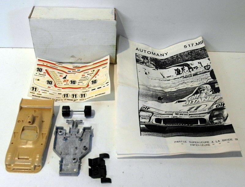Automany kits échelle 1 43 résine 517 mirage renault le mans 1977