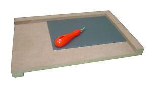 Bench GANCIO Craft taglio degli aiuti di sicurezza strumento LINO INTAGLIO & falegnameria 300mm x 200mm