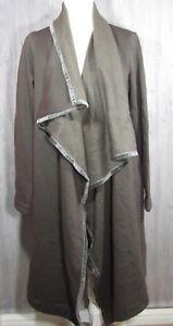 UGG Women s Janni Fleece Blanket Cardigan Army Green Size Medium NWT ... a55e14596