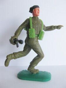 TIMPO-TOYS-BLACK-BERET-BERET-NOIR-WW2-WWII-ARMY-SOLDIER-WW-2-WW-II-D