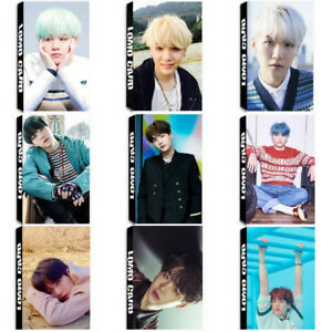 Lot-of-set-Kpop-Bangtan-Boy-SUGA-Album-Poster-Photo-Card-Lomo-Card-Bookmark