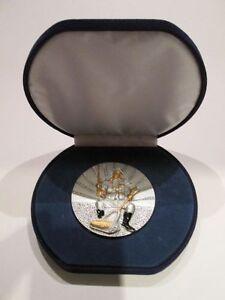 Große Resin-Medaille mit blauem Etui (verschiedene Sportarten erhältlich)