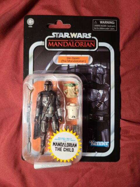 LAST ONE Star Wars The Mandalorian Din Djarin and The Child Vintage Collection