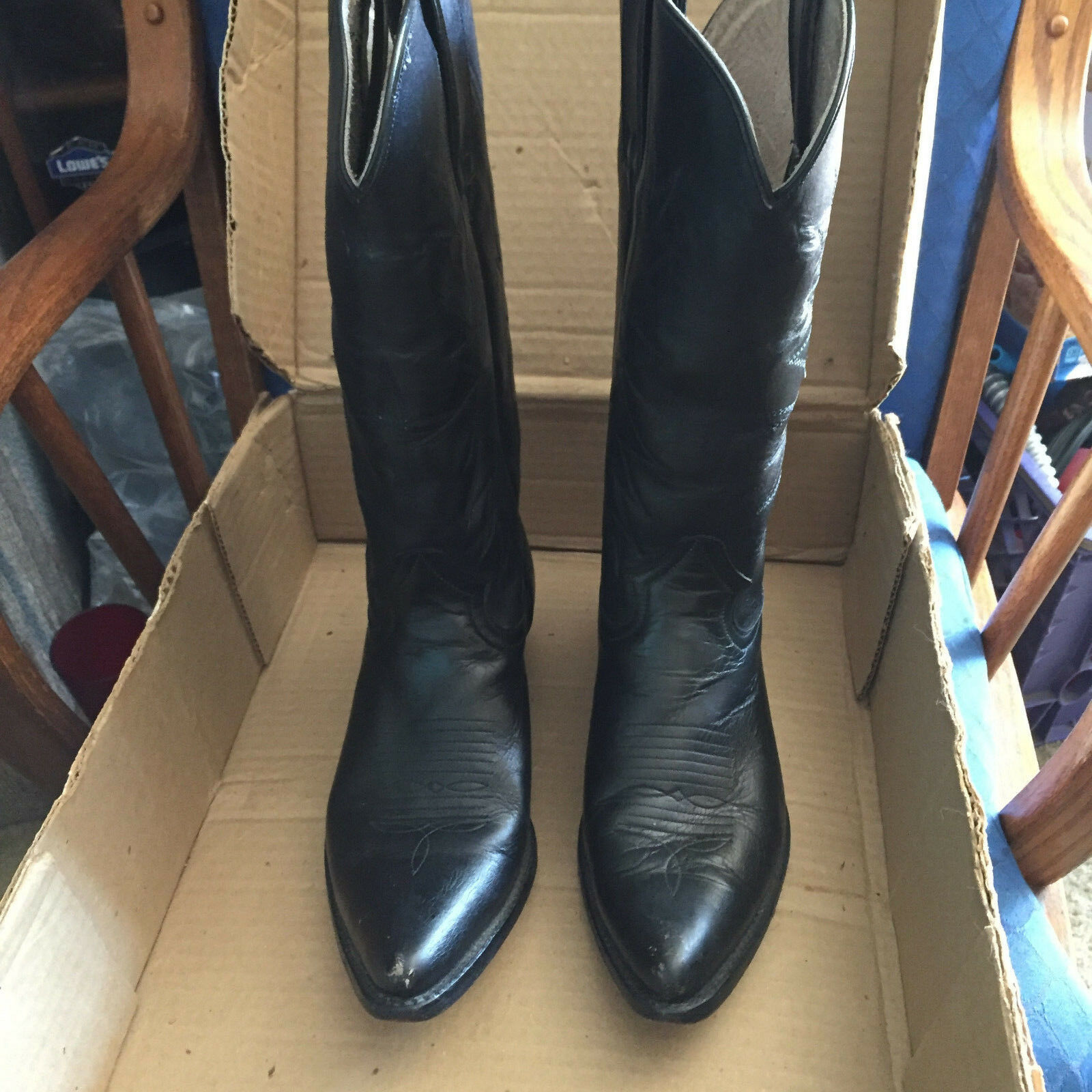 Botas Tejas woman Cowboy boots 9.0 Mexican. Excellent condition! size 26