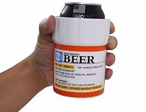 Prescription Designed Drink Cooler Insulated Ceramics Beer Can Cooler Holder