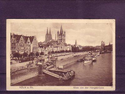 europa:11414 SorgfäLtige Berechnung Und Strikte Budgetierung Aus Dem Ausland Importiert Gelaufene Ansichtskarte Köln Anlegestelle