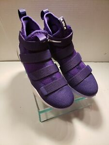 new style 9fee7 60cb4 Details about NIKE LEBRON SOLDIER XI 11 PURPLE 943155-500 TB PURPLE PEOPLE  EATERS SZ 6.5