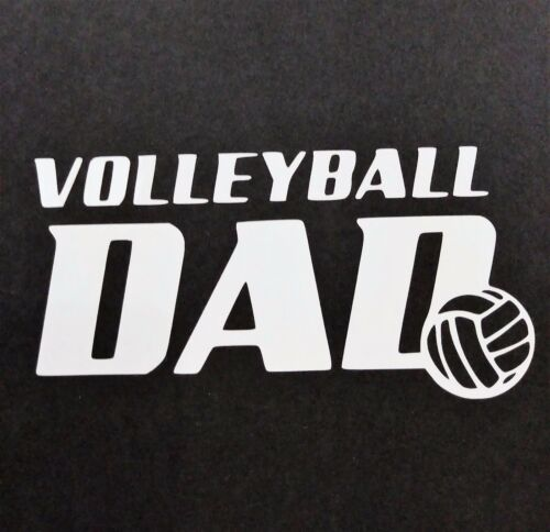 Volleyball Dad Vinyl Decal for laptop windows wall car boat a