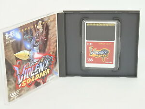 VIOLENT-SOLDIER-Ref-237-PC-Engine-Hu-PCE-Grafx-Japan-pe